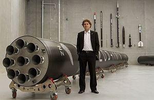 Electron Rakete mit CEO Peter Beck