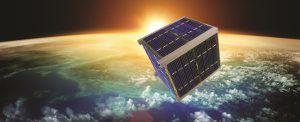 Cubesat im Erdorbit