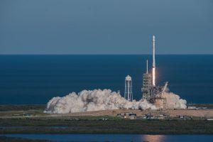 Raketenstart von KoreaSat 5a auf Falcon 9 Cape Caneveral