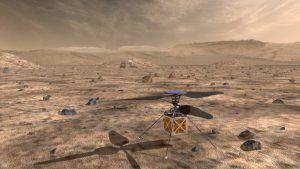 Drohne auf dem Mars