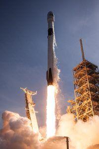 Die Neue Falcon 9 Block 5 beim Start